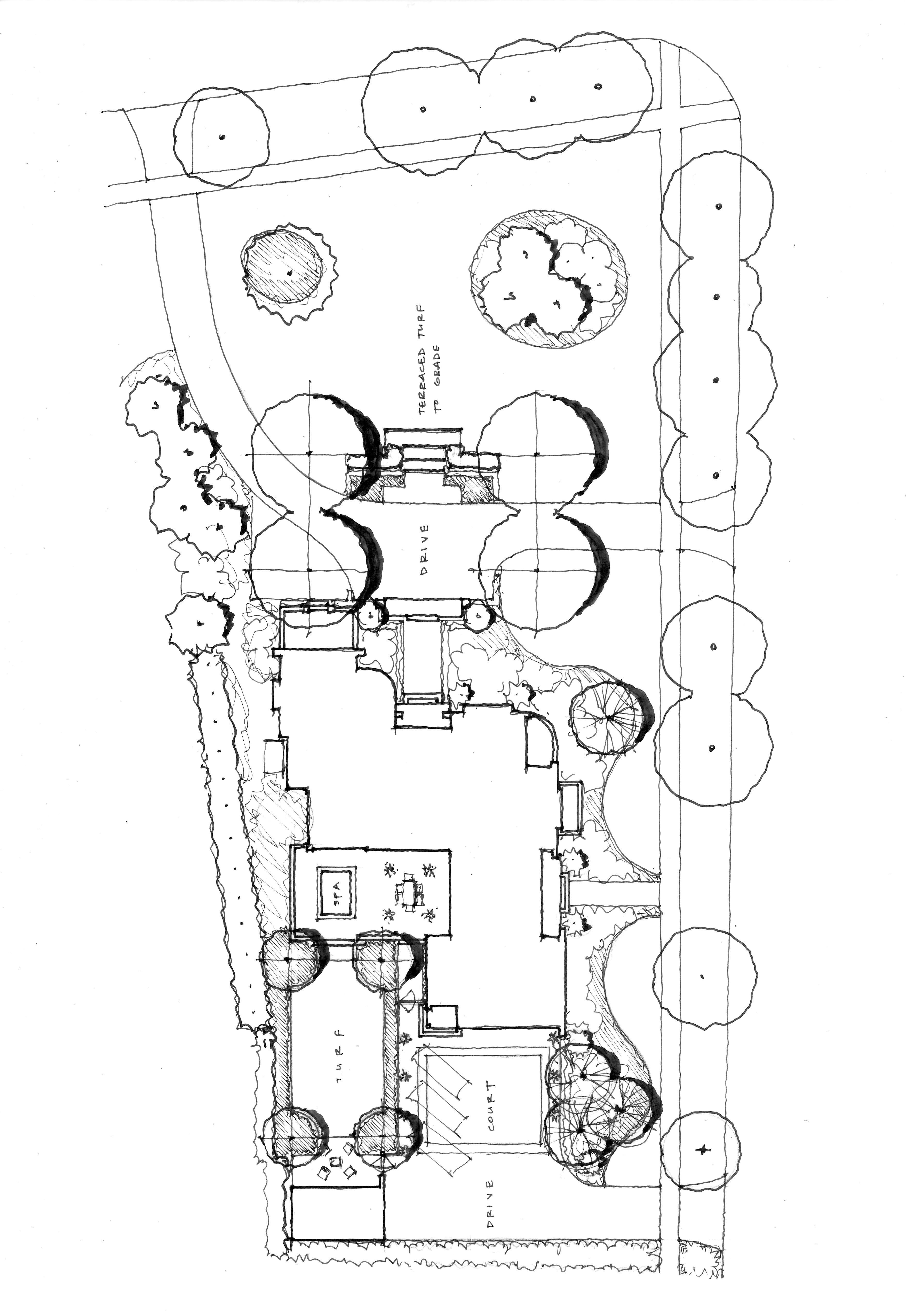 Contemporary schematic design definition frieze for Schematic design interior layout vignette